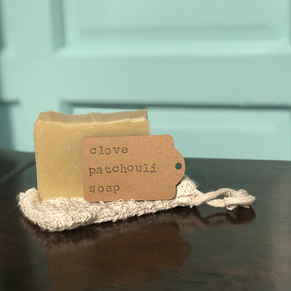 Clove Patchouli Handmade Soap - Donation of $10