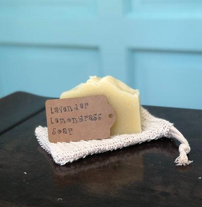 Lavender Lemongrass Handmade Soap - Donation of $10