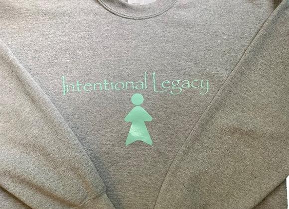 Grey Intentional Legacy Sweatshirt - Donation of $50
