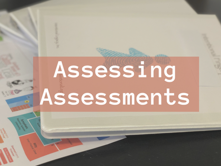 Assessing Assessments