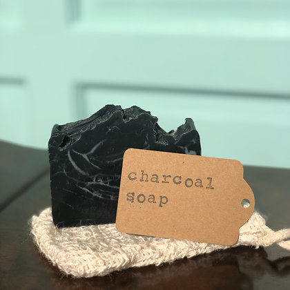 Charcoal Handmade Soap (Unscented) - Donation of $10