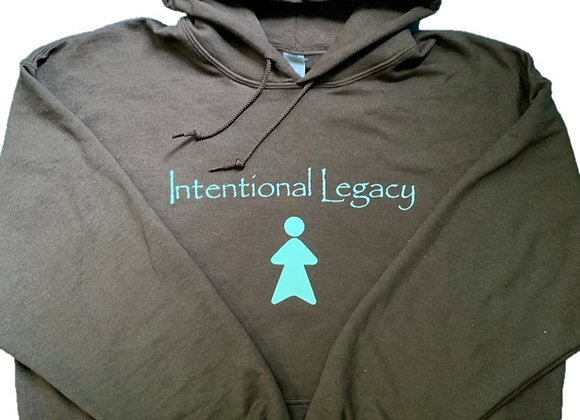 Brown Intentional Legacy Hoodie - Donation of $50