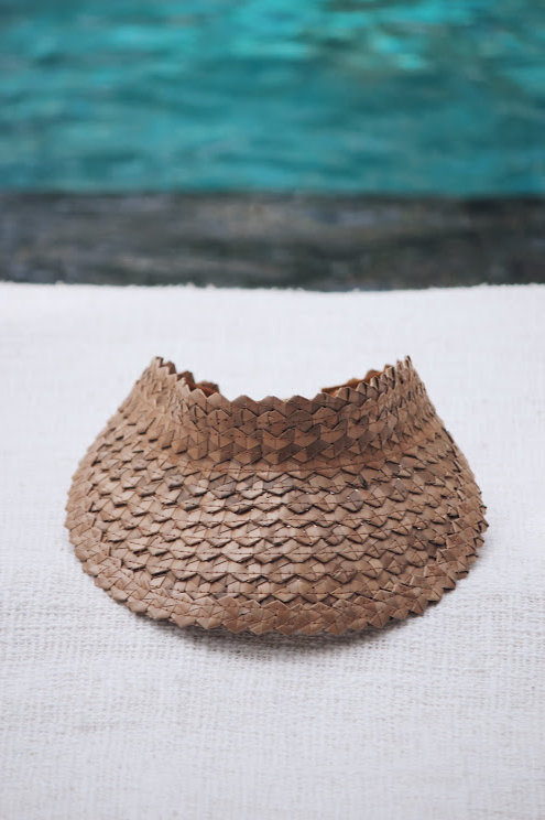 Vera Palm Visor - Sand