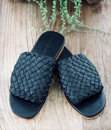 Wide Slide - Black