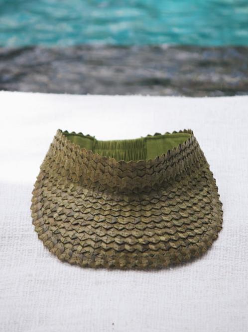 Vera Palm Visor - Green