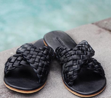 Woven Leather Maja Sandal