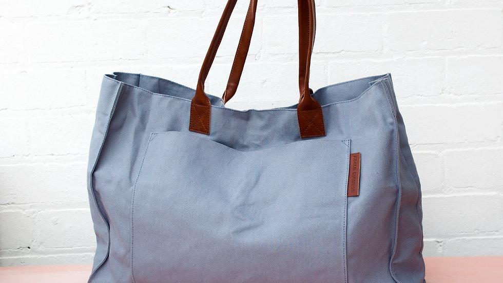 Cotton Canvas Weekender Bag