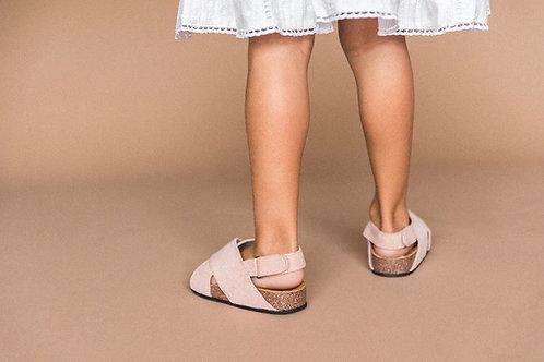 Little Gypsy Suede Sandals - Pink