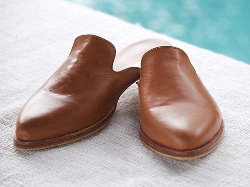 Leather Mule - Summer Tan