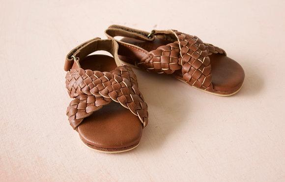 Mini Maja - Woven Leather Sandal