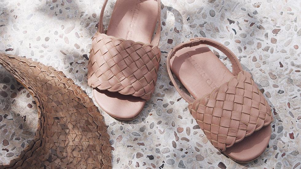 WAREHOUSE SALE Little Gypsy Woven Leather Sandal