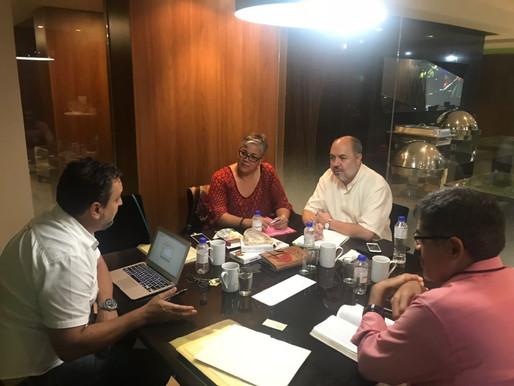 Ciemal realizó la primeira reunión del neuvo comité ejecutivo