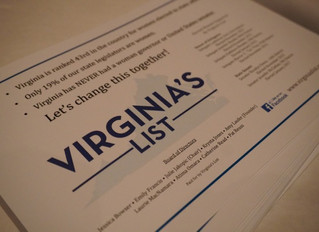 House Candidates endorsed by Virginia's List Come Out On Top in Virginia Primaries