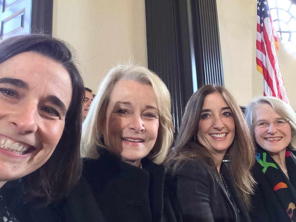 Women legislators in Virginia.