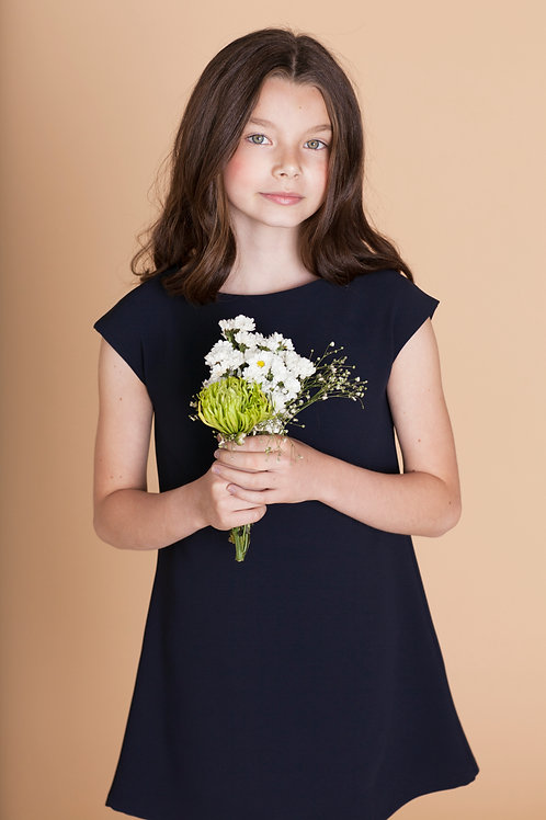 MiniMe DRESS in Navy Blue