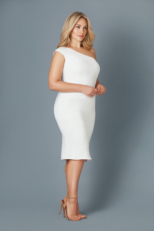 ICELAND DRESS IN WHITE