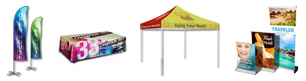 Custom Display - Flags, Retractables