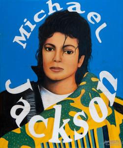 Michael Jackson, acrylique sur toile, 91,5 x 73,5 cm9_OAF5