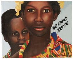 We love Kente