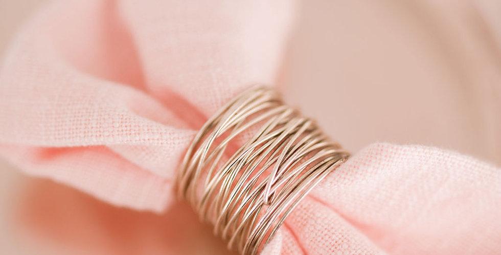 Rose Gold Napkin Rings
