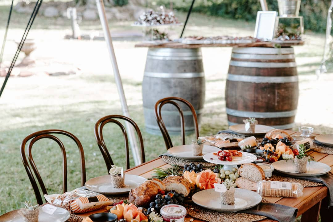 Scenic Rim Wedding Hire - Bentwood Chair