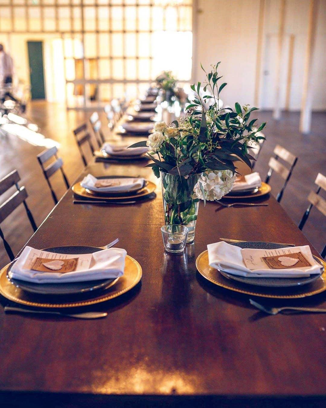 Scenic Rim Wedding Hire - Timber Board T