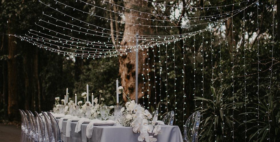 Fairy-light curtains
