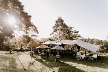 Scenic Rim Wedding Hire - Garden wedding