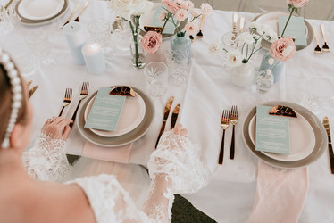 SRWH - Rose Gold Cutlery - Entree & Main