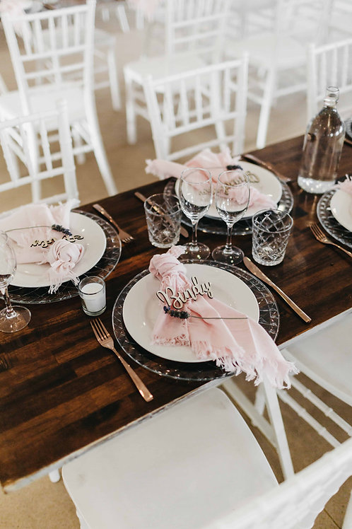 Blush Pink Napkins