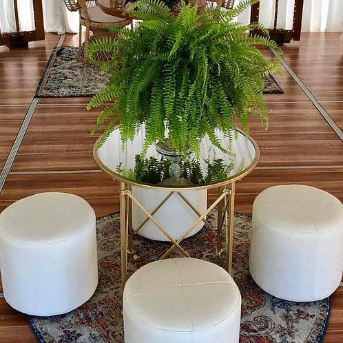 Mirror Table & Stool Setting