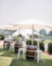 Scenic Rim Wedding Hire - Barrels, umbre