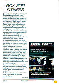 Box For Fitness