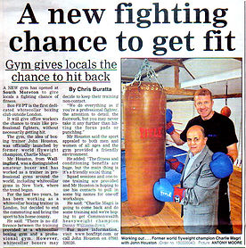 A new fighting chance to get fit