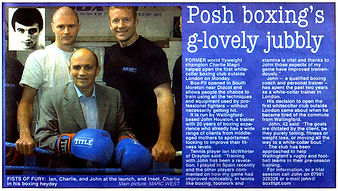 Posh Boxing's G-Lovely Jubbly