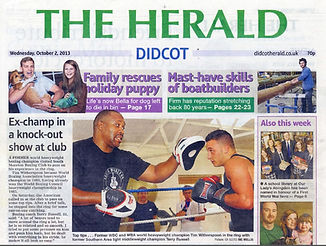 Ex-champ in a knock-out show at the club