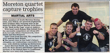 Four wins out of four for South Moreton MMA Team