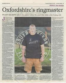 Oxfordshire's Ringmaster