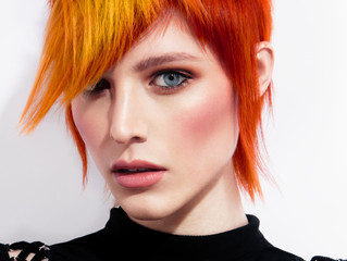 Coloured Hair # parrot inspo :)