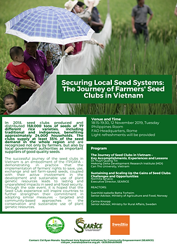 GB8 Side Event Flyer - SEARICE - 1112201