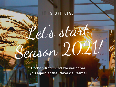 Preparing for season 2021: Our opening date is official