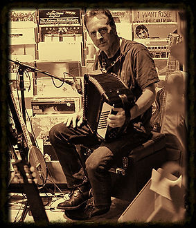 Jeff Saine - Accordion and Lap Steel - Buzzard Hollow Boys band