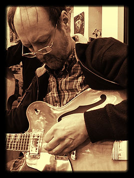 Kurt Dressel - Electric and acoustic guitar player for Buzzard Hollow Boys band
