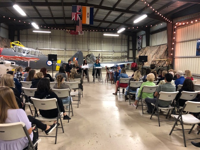 Women in Aviation Ladie's Night at WOFF.