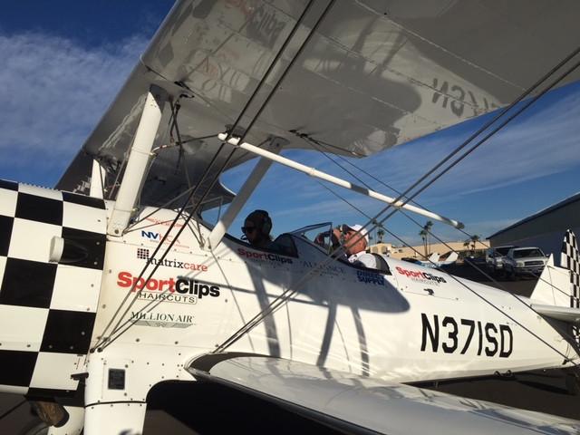 Ageless Aviation Dreams Foundation flying veterans!