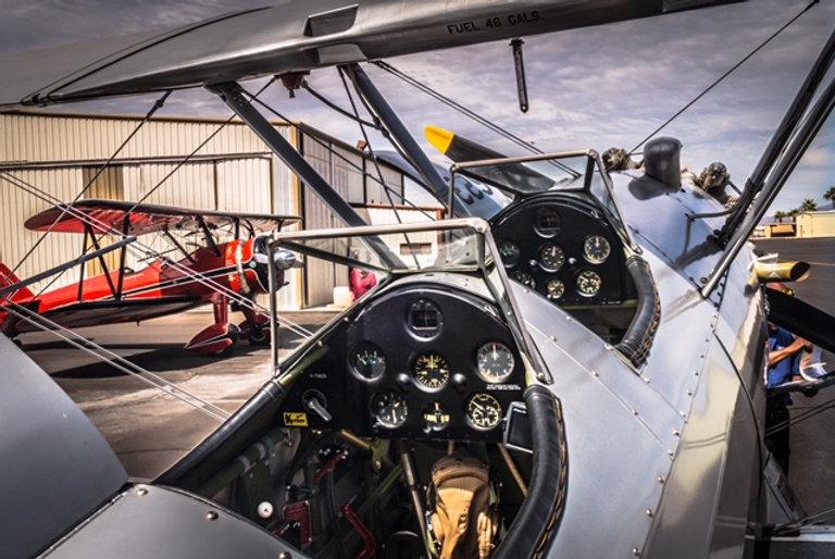 Stearman Cockpit