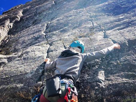 Beginner Rock Climber