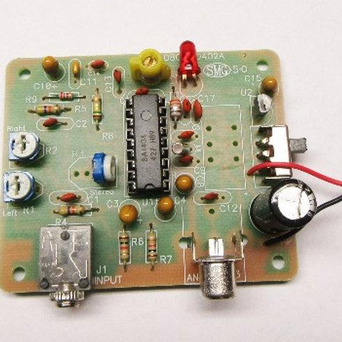 FMST-100 FM STEREO TRANSMITTER Kit