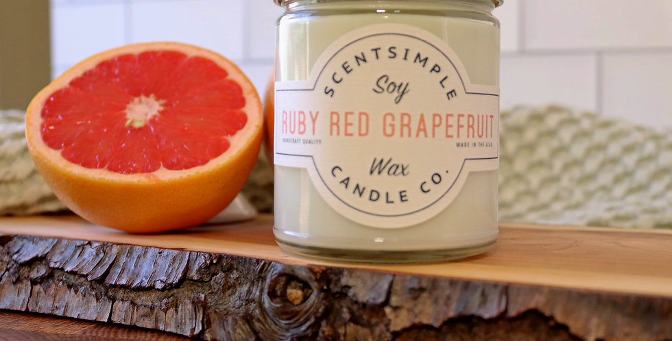 Ruby Red Grapefruit Candle