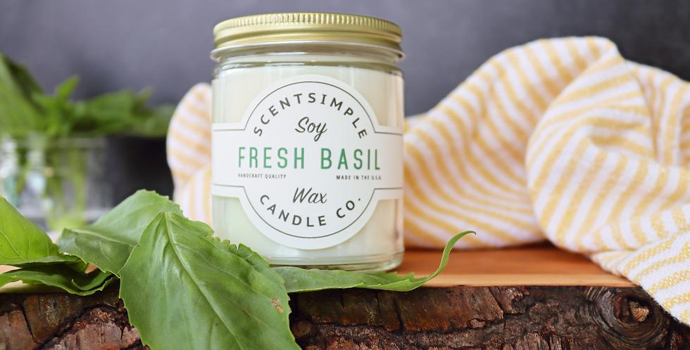 Fresh Basil Candle